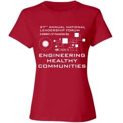2017 Forum Ladies T-shirt - Red