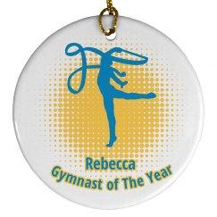 Gymnasts Christmas Orname