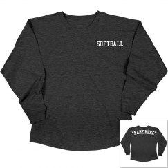Customize softball jersey