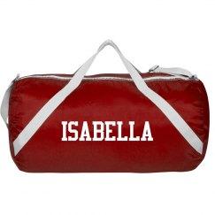 Isabella sports roll bag