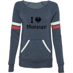 Mustang Raglan Sweatshirt