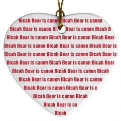 Bicah Ornament