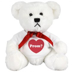 Prom Bear's Big Question