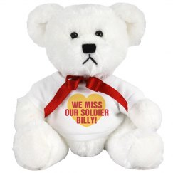 Miss Our Soldier Plush