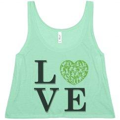 Love Dance Crop Top