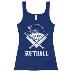 Wet Sox Softball Tee