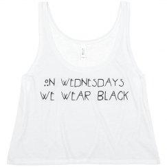 WEDNESDAYS WE WEAR BLACK@