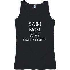 Swim mom is my happy place
