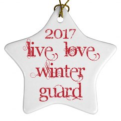 2017 Live Love Winter Guard (Angelic Script)
