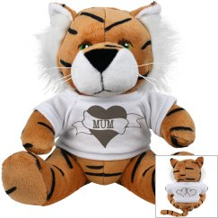 Tiger Mum Plush Toy
