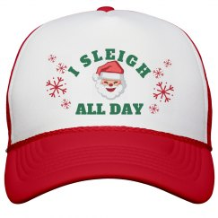 I Sleigh All Day Hat