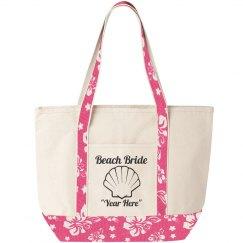 Beach Bound Bride Tote