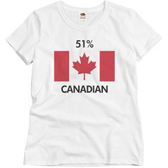 51% Canadian