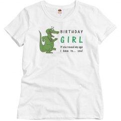 Crocodile Birthday Girl