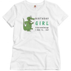 Crocodile Birthday Girl