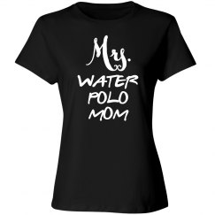 Mrs water polo mom