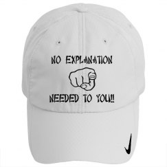 No Explanation Cap