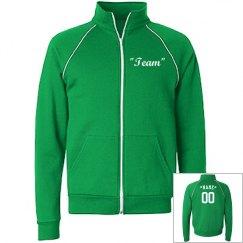 Customize track jacket