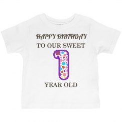 Sweet 1 year old