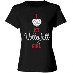 Volleyball Mom - girl