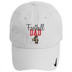 Football Dad - enter number - HAT