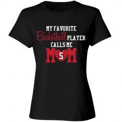 Basketball Mom - Favorite player - enter number