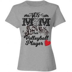 Volleyball mom - love her player