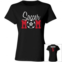 Soccer Mom - Name and Number on back