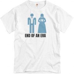 End Of An Era Groom