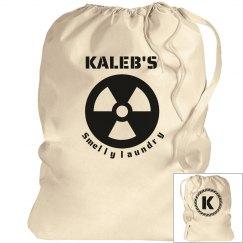 KALEB. Laundry bag