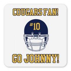 Cougars Fan Magnet