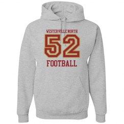 Football Number Hoodie
