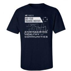 2017 MYTI Mens T-shirt - Navy
