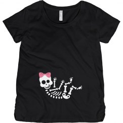 Baby Girl Skeleton