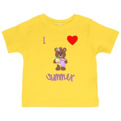 I love summer (purple)