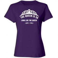 The queen is 50 shirt