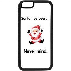 Funny Santa Phone Case