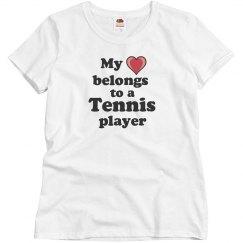 Love a tennis player