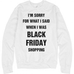 Black Friday Sweatshirt