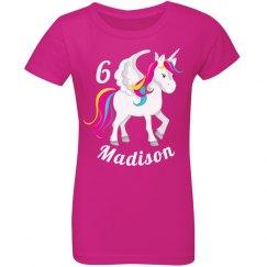 Rainbow Unicorn Girl