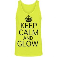 Keep Calm Glow Run