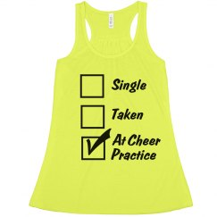 At Cheer Practice