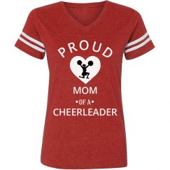 Proud mom of a cheerleader
