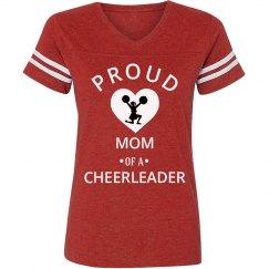 Proud mom of a cheerleader