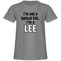 I'm a Lee!