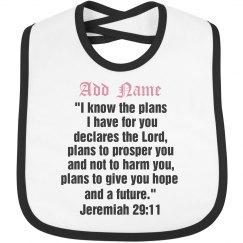 Personal Scripture Verse bib
