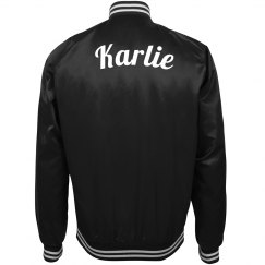 Custom bomber jacket