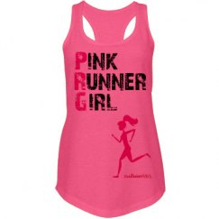 Pink Runner Girl