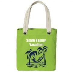 Family Vacation Beach Bag