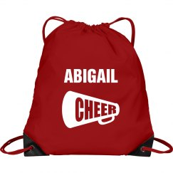 Abigail cheer bag